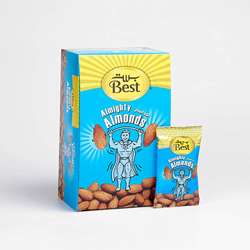 Best Almighty Almonds Pouch 13gm (1x24Pcs)