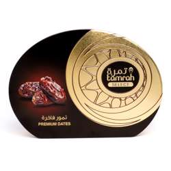 Tamrah Select Oval Tin Plain Date 322gm