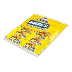 Deemah Kraky Salted Crackers 42gm Slab 12Pcs