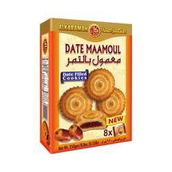 Al Karamah Date Maamoul 31gm Box 8Pcs