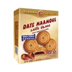 Al Karamah Date Maamoul 20gm Box 16Pcs