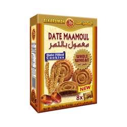 Al Karamah Date Maamoul Whole Wheat 30gm Box 8Pcs