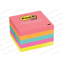 3M Post It Sticky Note Multi Color 75X75mm