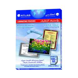 Atlas A4 Size Lamination Pouch 125Micron-100 Pcs/Pkt preview