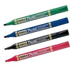 Pentel Permanent Marker -12 Pcs/Pkt