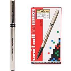 Uni-Ball Uni Fine Deluxe Roller Pen-12 Pcs/Pkt