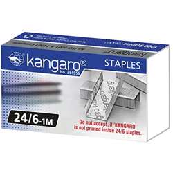 Kangaroo Stapler Pin 24/6 (1 Box x 20 Small Pkt) preview