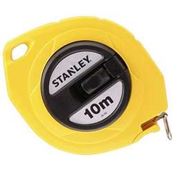 Stanley 0-34-102 Closed Case Steel Blade M. Tape 10Mx10mm Metric