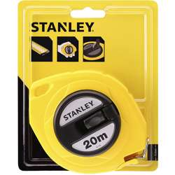 Stanley 0-34-105 Closed Case Steel Blade M.Tape 20mm X10mm Metric