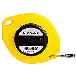 Stanley STHT34104-8 Closed Case Steel Blade M.Tape 15M/Ex10mm Metric-Imperial