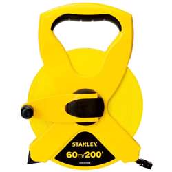 Stanley STHT34794-8 Open Case Fiber Glass Blade M.Tape 60M/Ex10mm Metric-Imperial