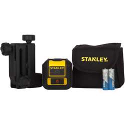 Stanley STHT77502-1 Cross90 Cross Line Laser 12M With Quick Link, Bag Batteries