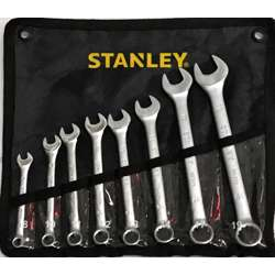 Stanley STMT80940-8 8Pcs Combination Wrench Set, 8;10;11;12;13;14;17;19mm