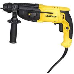 Stanley SHR263Kc-B5 26mm 800W 3 Mode Sds Plus Hammer W.Chuck