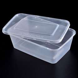 FP Microwave Clear Rectangular Container With Lid 1500ml - 250pcs