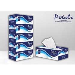 Petals Facial Tissue 200 Sheets x 2 Ply - (5x6) Carton