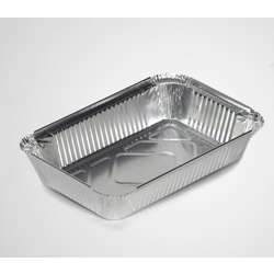 Ducon Aluminium Container With Lids-8389 -1000pcs