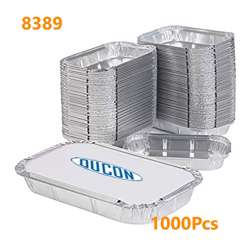 Ducon Aluminium Container With Lids-8389L -1000pcs
