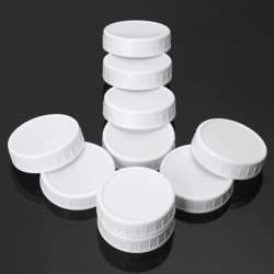 FP Ribbed Milky Container With lid 200ml-1000pcs