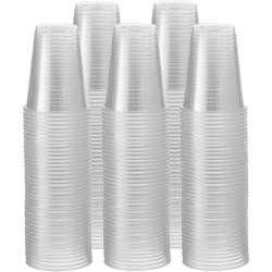 Nuplas Plastic Cup White -6oz. 1000pcs