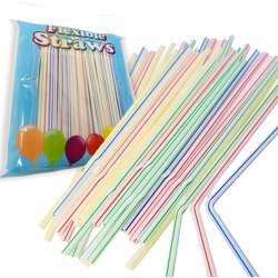 Straws 6mm Flexible-400pcs