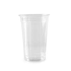 Juice Cup Clear PET Without Lids-16oz-80pcs