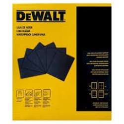 Dewalt DAW20180S Waterproof Sheet - AO 180G PK50