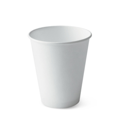 Detpak I Am ECO White Single Wall Cup