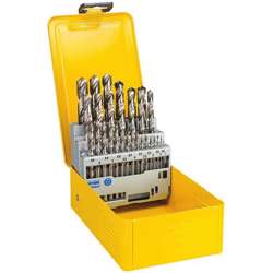 Dewalt DT5929-QZ METAL DRILL BIT HSS-G SET - 1-13mm 29 Pieces