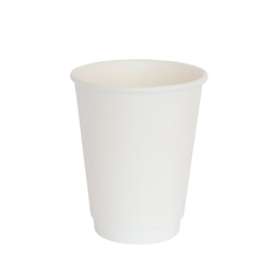 Detpak White Double Wall Hot Coffee Cup