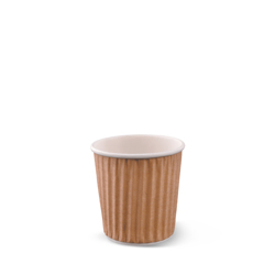 Detpak Brown Ripple Wrap Hot Coffee Cup