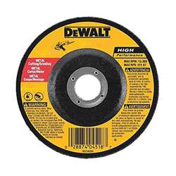 Dewalt DX7927-AE METAL CUTTING WHEEL HP - 125 X 3 X 22.23MM TYPE 42