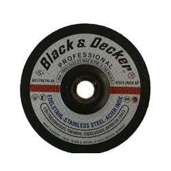 Black & Decker AS17967N-AE Premium Resin Bond S. Steel Cutting Disc - 7""