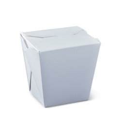 Detpak White Plain Food Pail