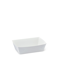 Detpak White Food Tray