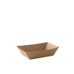 Detpak Brown Food Tray