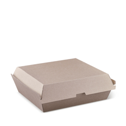 Detpak Brown Endura Dinner Box