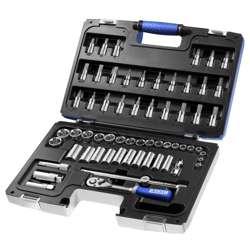 Expert E031806 3/8in Socket & Accessory 61 Pcs Set