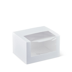 Detpak Window White Patisserie Box