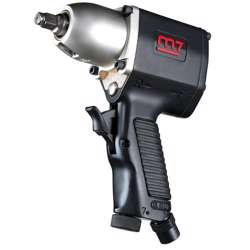 M7 NC-3111 3/8in Drive Air Impact Wrench; 160 FT-LB Max Torque