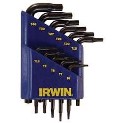 Irwin T10758 Torx Key Set; T6-T40; 11Pcs,