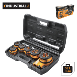 Tolsen 9Pcs Pipe Threading Set