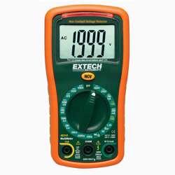 Extech EX310 9 Function Mini MultiMeter + Non-Contact Voltage Detector