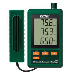 Extech SD800 CO2, Humidity and Temperature Datalogger with SD Card