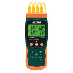 Extech SDL200 4-Channel Datalogging Thermometer with SD Card