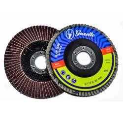 Gazelle GFDA45100G Flap Disc 4.5in - 115mm x 100Grit Aluminium Oxide