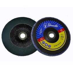 Gazelle GFDZ4580G Flap Disc 4.5in - 115mm x 80Grit Zircon