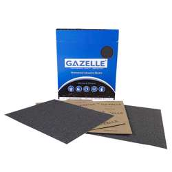 Gazelle GWP320 Waterproof Sheets 8 x 11in - 320Grit (Pack of 50)