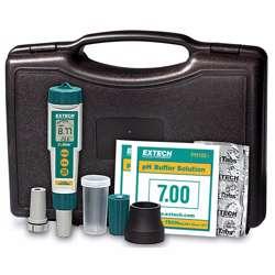 Extech EX800 ExStik® 3-in-1 Chlorine, pH, Temperature KitChlorine, pH and Temperature measurements with all the necessary accessories