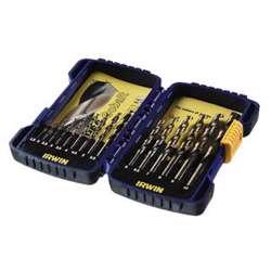 Irwin 10503730 HSS Cobalt Drill Bit Set; 25Pcs 1.0-13.0mm